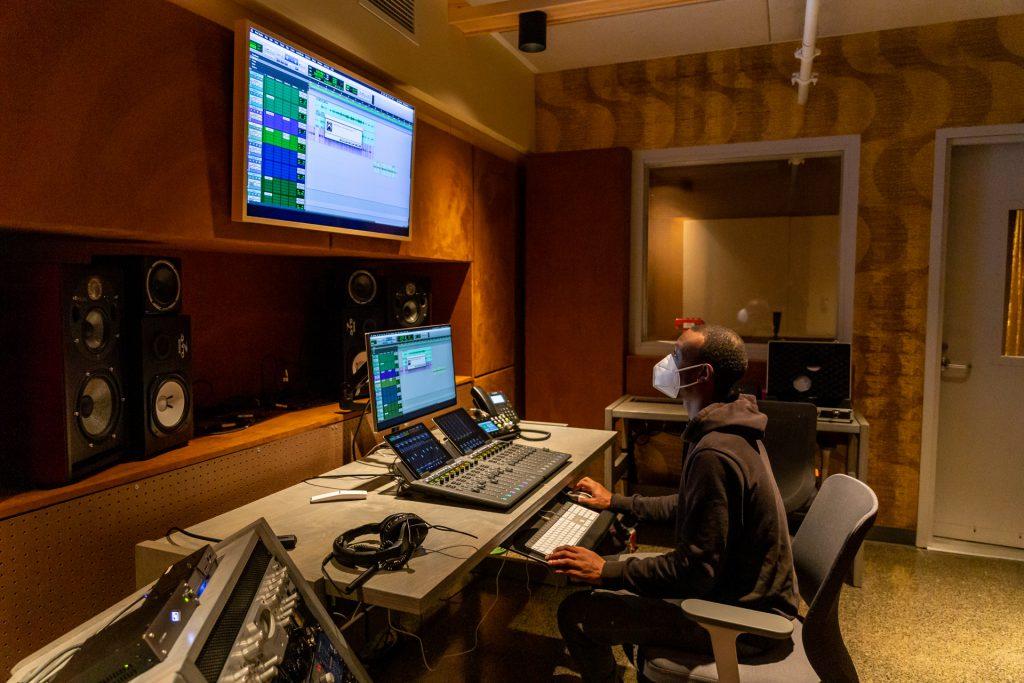 COVID safety in a recording studio
