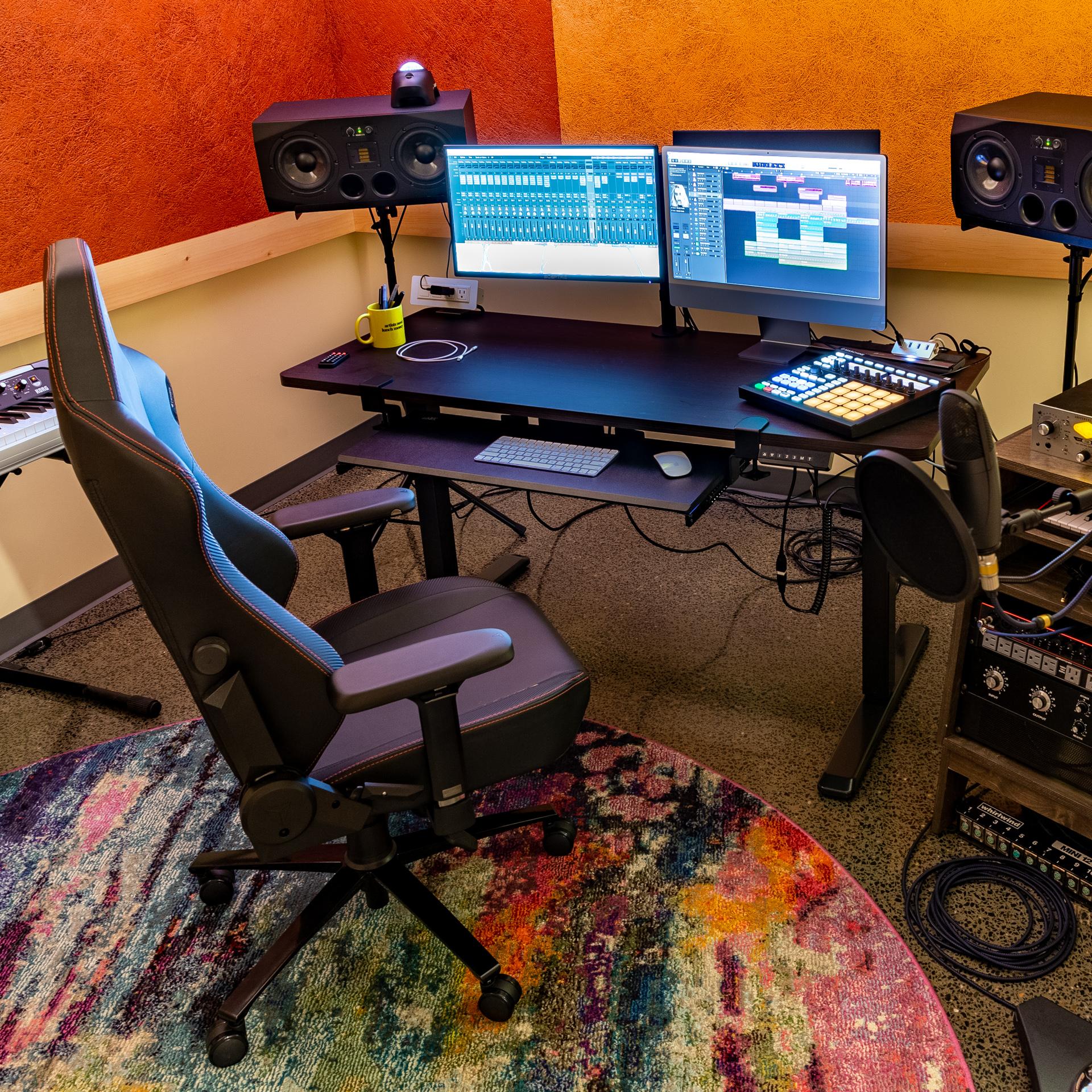 Production suite at TRC